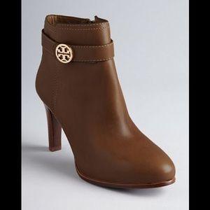 Tory Burch Bristol Carmel colored high heel boot